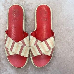Vince Camuto slide on sandals